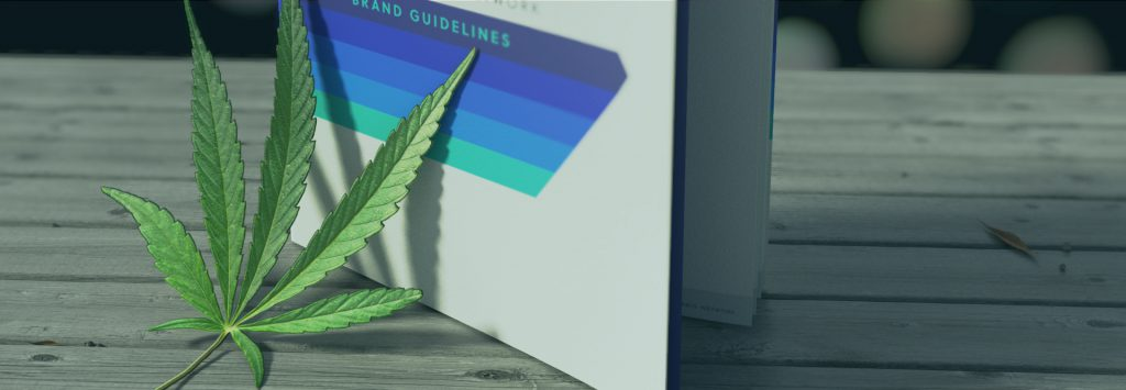 cannabis branding guidelines booklet
