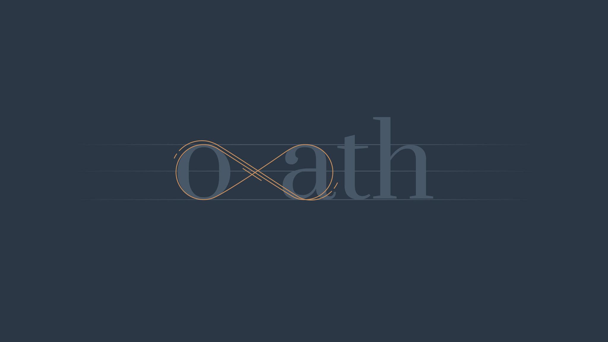Elements of Oath Insurance cannabis logo design