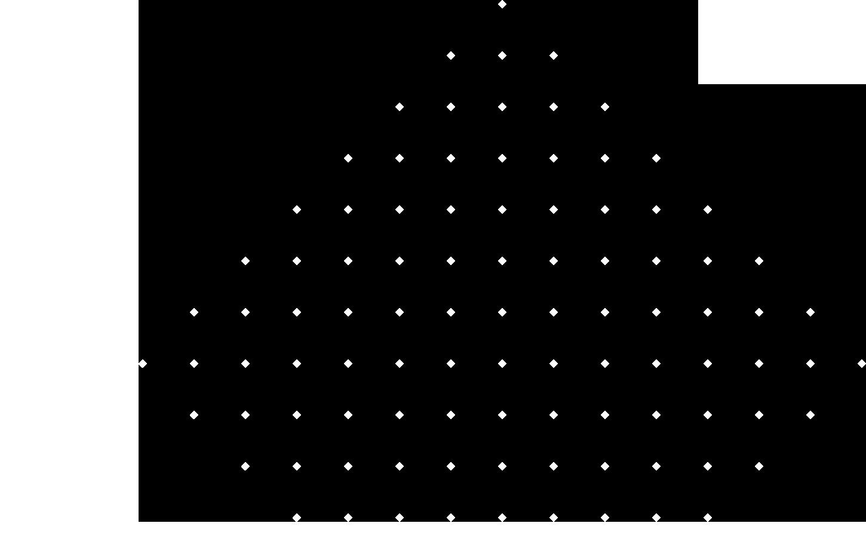 dot diamond pattern
