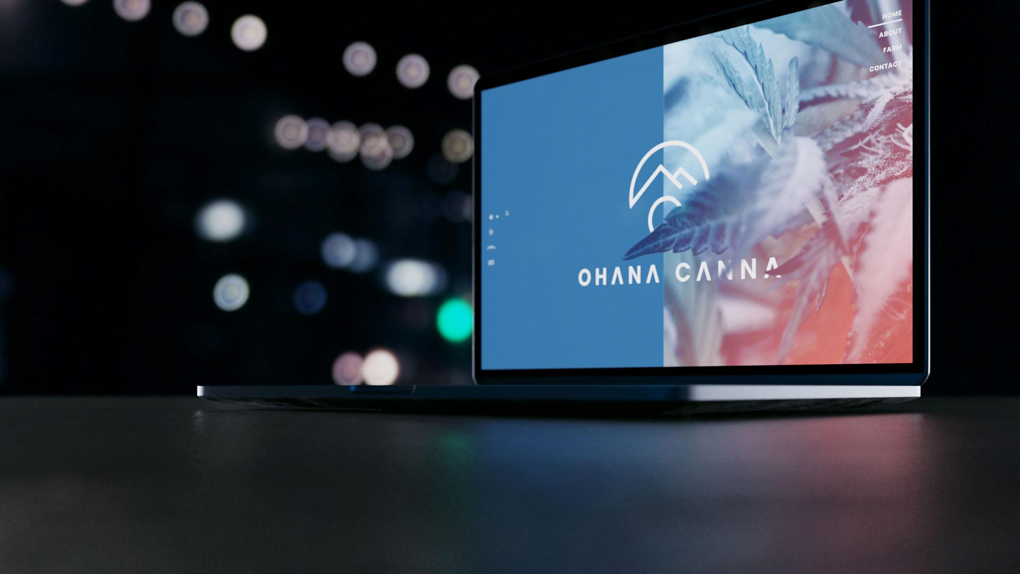 Preview of Ohana Canna website design